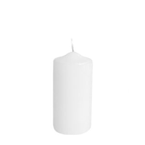 Sviečka valcová ø 50 x 100 mm biela [4 ks]