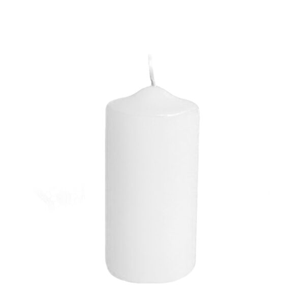 Sviečka valcová ø 60 x 120 mm biela [1 ks]