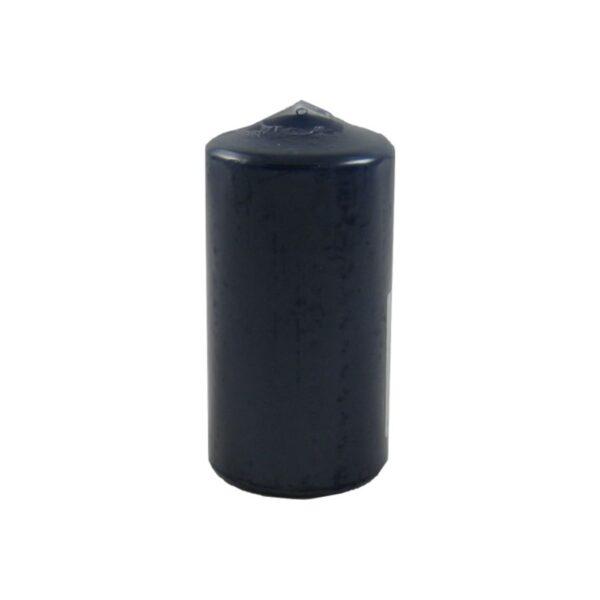 Sviečka valcová ø 60 x 120 mm tmavomodrá [1 ks]