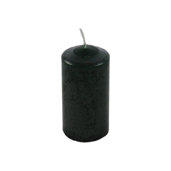 Sviečka valcová ø 60 x 120 mm tmavozelená [1 ks]