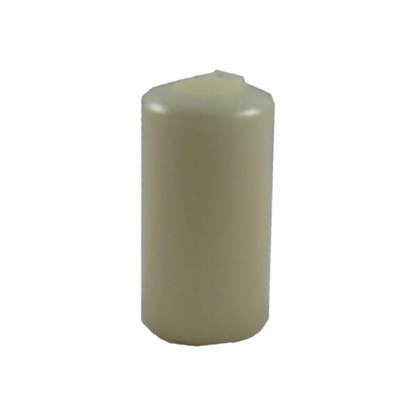 Sviečka valcová ø 60 x 120 mm béžová [1 ks]