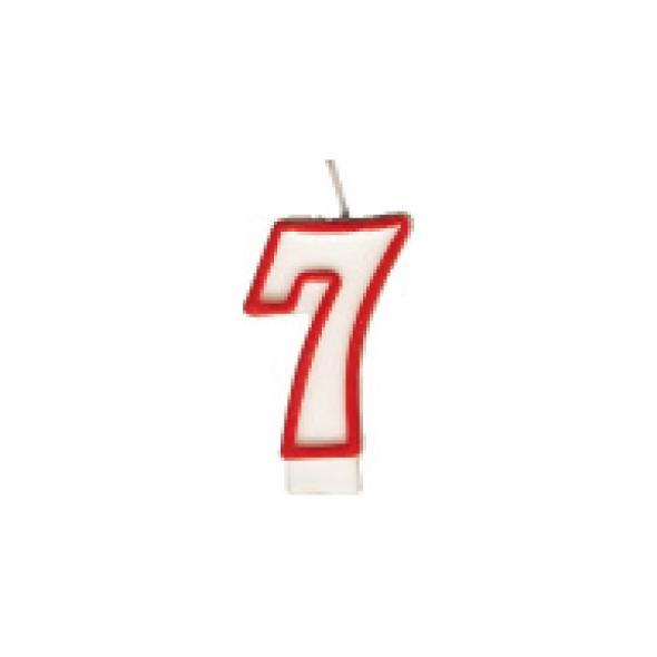 "Číslová sviečka ""7"" 75 mm [1 ks]"