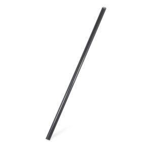 Slamky JUMBO čierne (PLA) -BIO- 25 cm, ø 8 mm [150 ks]