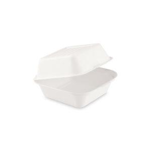 Box na hamburger BIO cukrová trstina 152 x 150 x 78 mm [50 ks]
