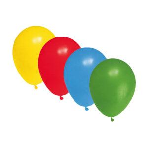 """Nafukovacie balóniky farebné mix """"S"""" [100 ks]"""