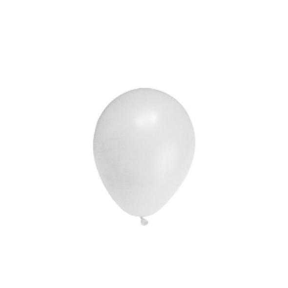 """Nafukovacie balóniky biele """"M"""" [100 ks]"""