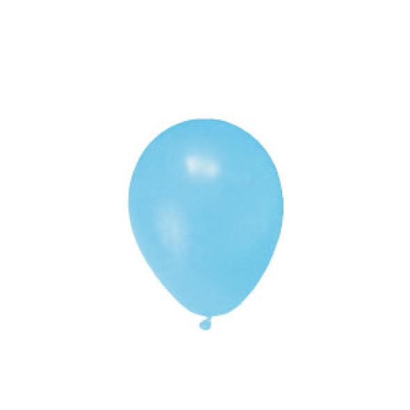 """Nafukovacie balóniky svetlomodré """"M"""" [100 ks]"""