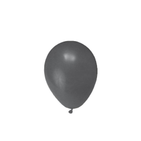 """Nafukovacie balóniky čierne """"M"""" [100 ks]"""
