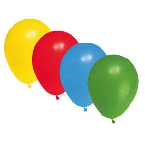 """Nafukovacie balóniky farebné mix """"L"""" [10 ks]"""