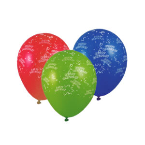 "Nafukovacie balóniky ""Happy Birthday"" ""L"" [100 ks]"