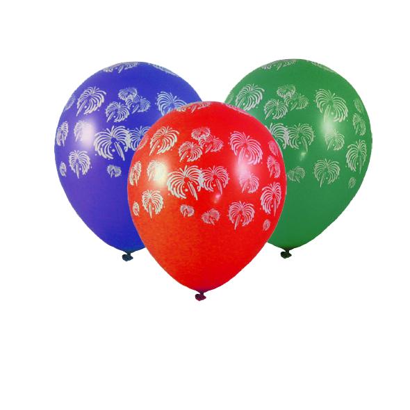 """Nafukovacie balóniky """"Ohňostroj"""" """"L"""" [100 ks]"""