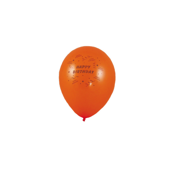 "Nafukovacie balóniky ""Happy Birthday"" ""M"" [10 ks]"