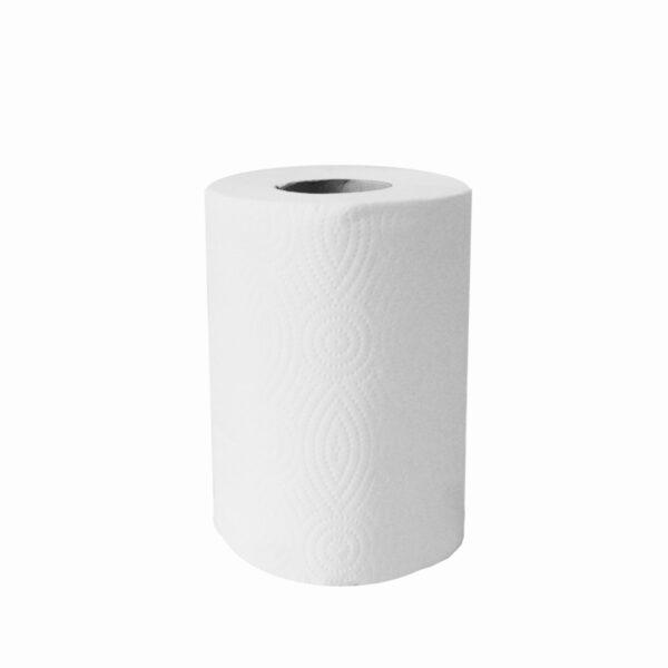 Utierky tissue rolov., 2-vr. 19 cm x 50 m (ø 13,5 cm) [6 ks]