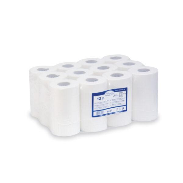 Utierky tissue rolované, 2-vr. 20cm x 60m (ø 12cm) [12 ks]