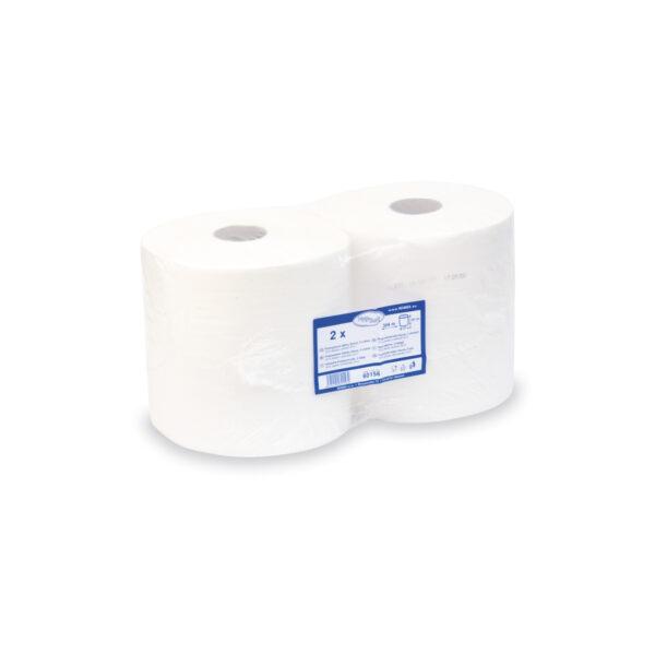 Priemyselné utierky tissue 2-vr. 26cm x 304m bez ražby [2 ks]