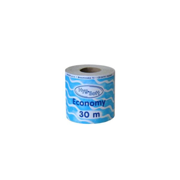 Toaletný papier 1-vrstvý, ø 10 cm, 30 m, natural [8 ks]