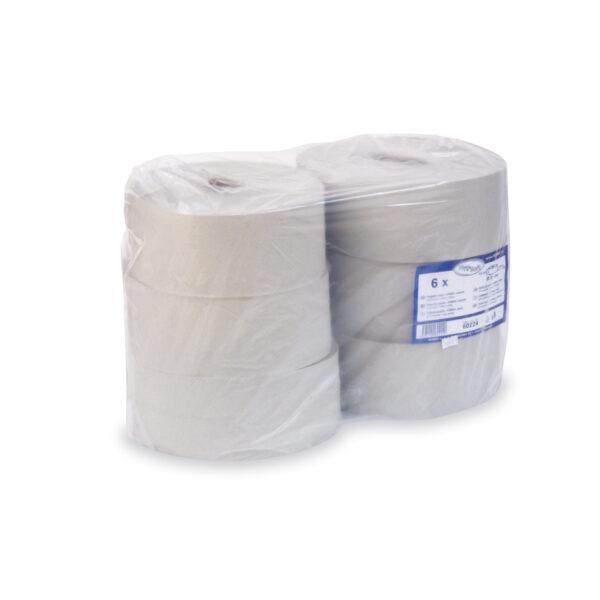 Toaletný papier JUMBO, ø 24 cm, 210 m, natural [6 ks]