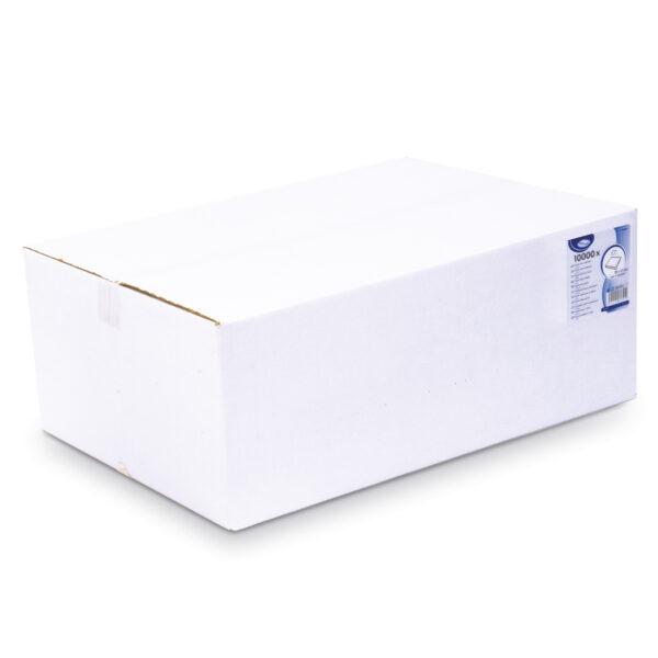 Utierky tissue skladané, 2-vrstvé, 22 x 11 cm [10000 ks]