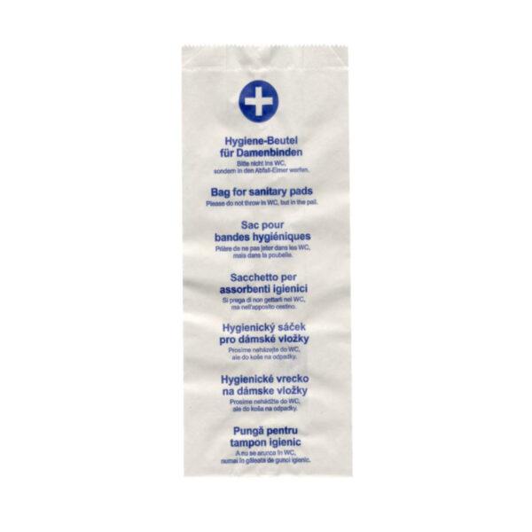 Hygienické papierové vrecká 11+6 x 28 cm [100 ks]