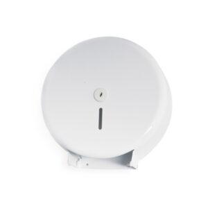 Kovový zásobník toal. papiera JUMBO ø 28 cm, biely [1 ks]