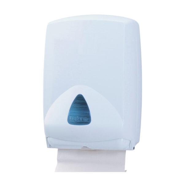 Zásobník INTRO skladaných uterákov MAXI, biely [1 ks]