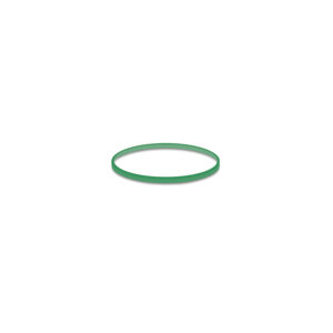 Gumičky zelené slabé (1 mm, ø 4 cm) 50 g [1 bal.]