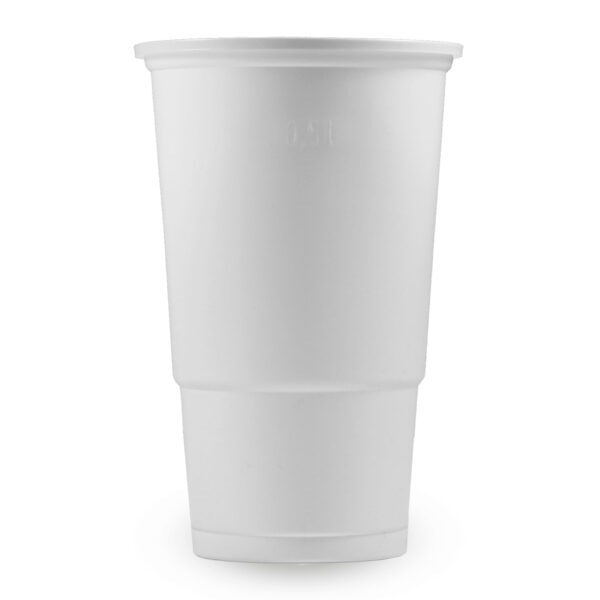 Pohár biely 0,5 l (PP) [10 ks]