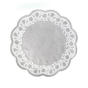 Dekoračné krajky okrúhle ø 32 cm [6 ks]