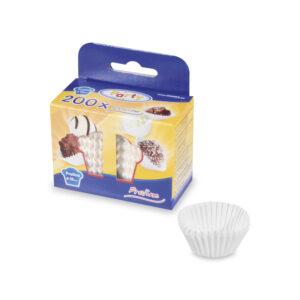 Cukrárenské košíčky biele ø 25 x 18 mm [200 ks]