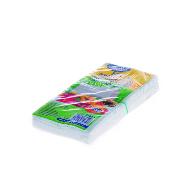 Desiatové papierové vrecká 1 kg (11+6 x 24 cm) [100 ks]