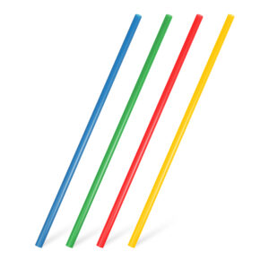 Slamky JUMBO farebné mix 25 cm, ø 8 mm [30 ks]