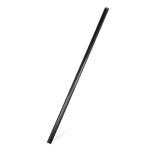 Slamky JUMBO čierne 25 cm, ø 8 mm [150 ks]