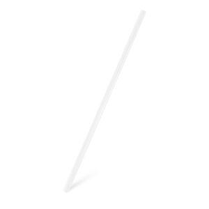 Slamky JUMBO číré 25 cm, ø 8 mm [150 ks]