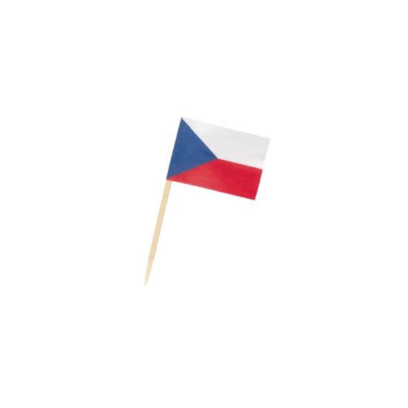 """Vlajočka """"CZ"""" 70 mm [50 ks]"""