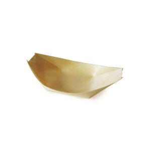 Fingerfood miska drevená, lodička 11 x 7 cm [100 ks]