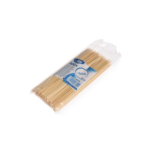 Bambusové špajdle ostré 20 cm, ø 2,5 mm [200 ks]