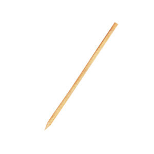 Drevené špajdle ostré 20 cm, ø 3 mm [100 ks]