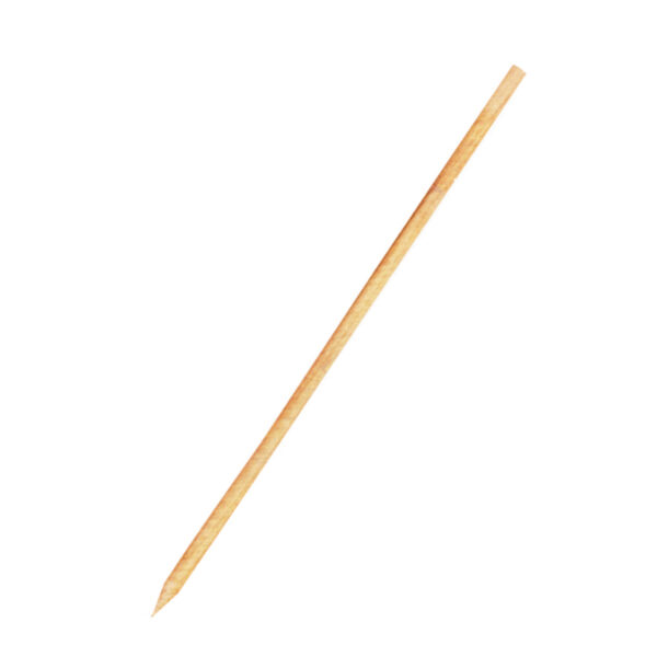 Drevené špajdle ostré 30 cm, ø 3 mm [100 ks]