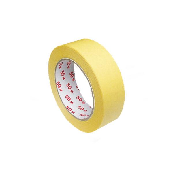 Lepiaca páska krepová, žltá 50 m x 30 mm [1 ks]