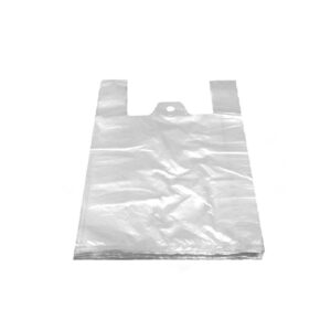 Tašky 5 kg biele 24+11 x 46 cm -extra silné- [100 ks]