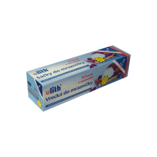 Vrecká do mrazničky 17 x 25 cm, 1 l (s EAN-kódom) [50 ks]