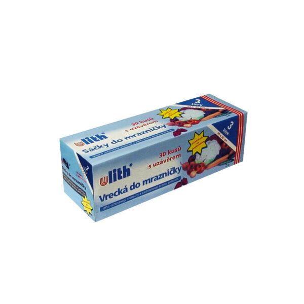 Vrecká do mrazničky 25 x 32 cm, 3 l (s EAN-kódom) [30 ks]