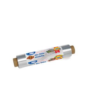 Alu fólia -extra silná- 30cmx150m, 14µm jednotl. balená [1 ks]