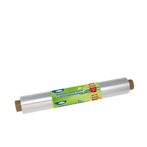 Potravinová fólia 45 cm x 300 m, 9 µm [4 ks]