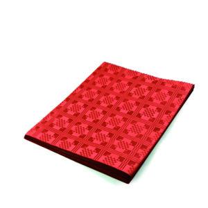 Pap. obrus skladaný 1,80 x 1,20 m červený [1 ks]
