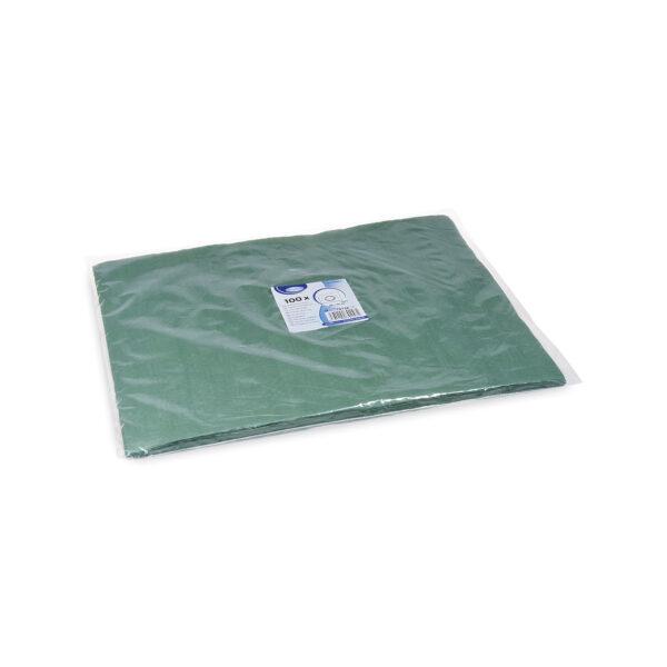 Papierové prestieranie 30 x 40 cm tmavozelené [100 ks]