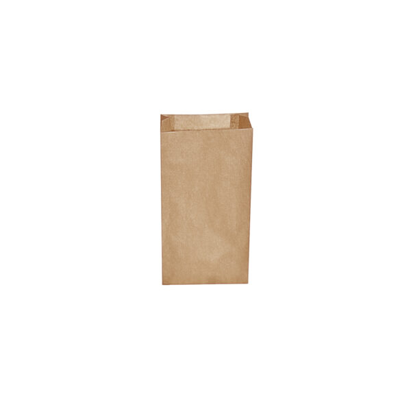 Desiatové pap. vrecká hnedé 0,5 kg (10+5 x 22 cm) [500 ks]
