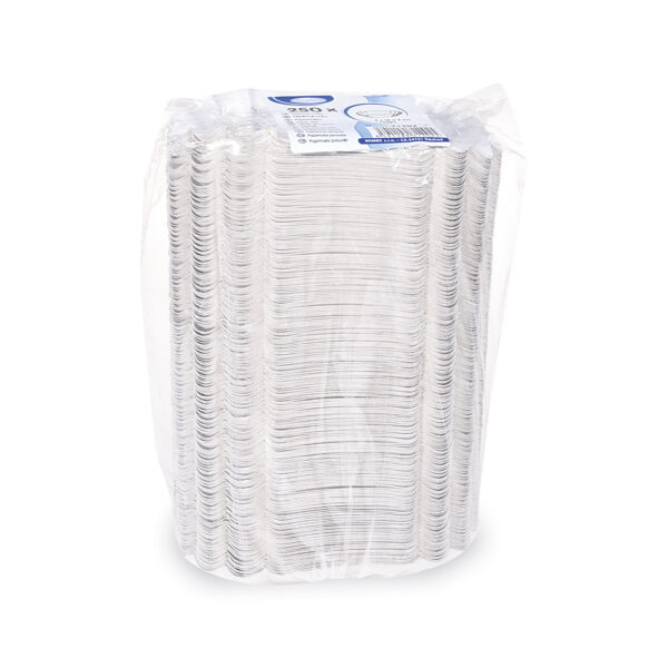 Papierové misky oválne 9 x 16 x 3 cm [250 ks]