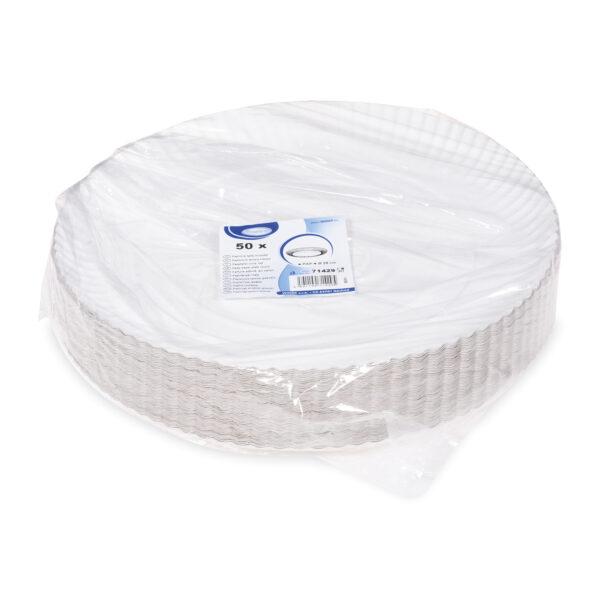 Papierové taniere hlboké ø 29 cm [50 ks]