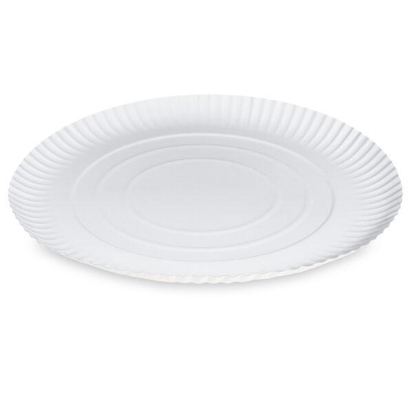 Papierové taniere hlboké ø 34 cm [50 ks]